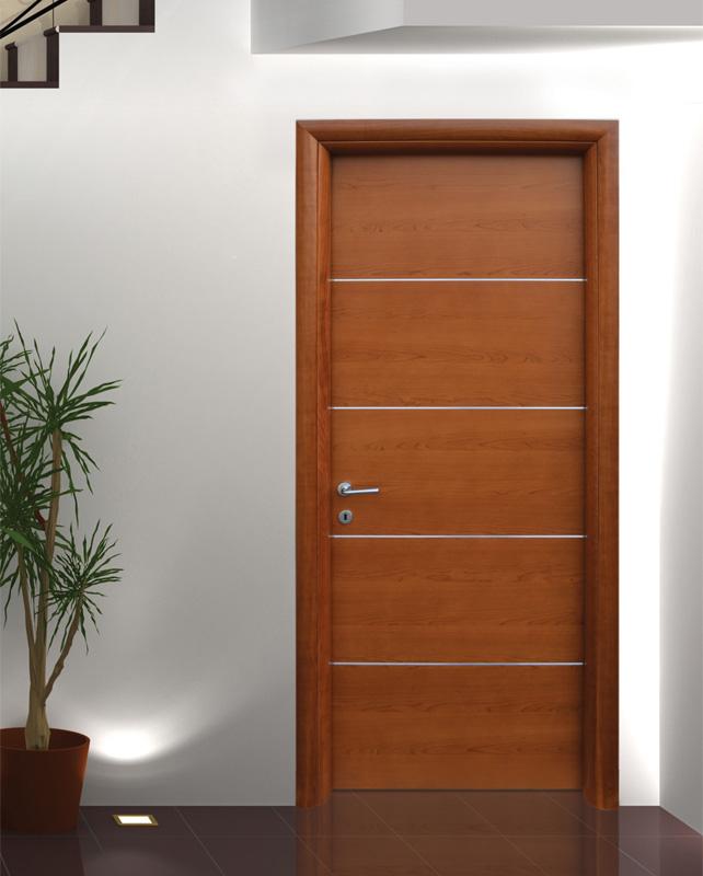 Porta tamburata mod cs al ciliegio angelo contini - Porte color ciliegio ...