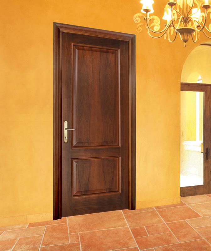 Porta tamburata mod d angelo contini falegnameria cremona - Porta tamburata ...