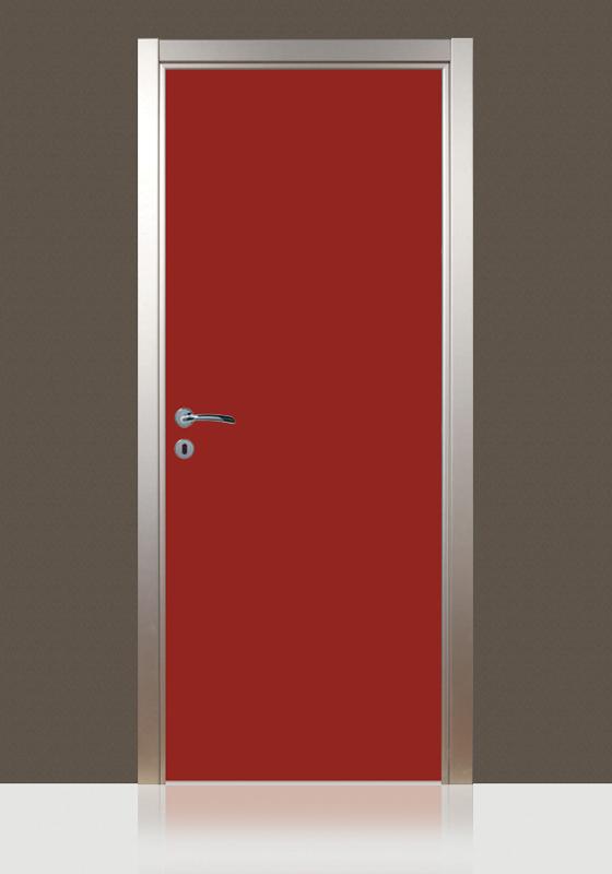 Porta tamburata mod laminate modello 1 angelo contini - Porta tamburata ...