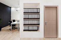 Porta incisa laccata Mod. CSIL12 (ambiente ufficio)