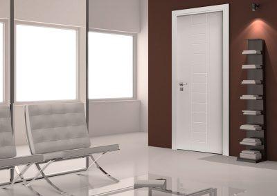 Contini Porte - Porta incisa laccata Mod. CSIL4 (Ambiente 1)