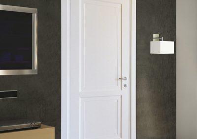 Contin Porte - Porta listellare Mod. ND2G su parete scura