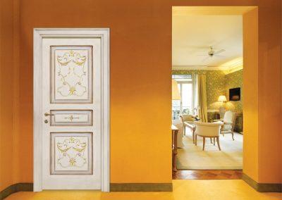 Contin Porte - Porta listellare decorata Mod. ND3