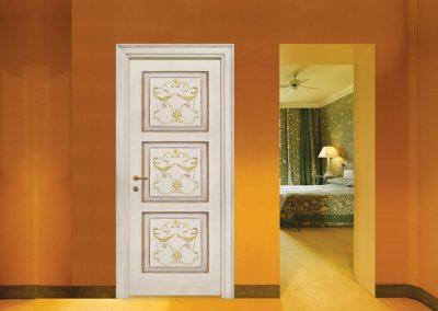 Contin Porte - Porta listellare decorata Mod. ND3Q