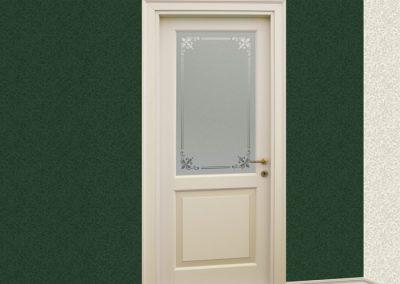 Contini Porte - Porta listellare laccata Mod. ND2-V