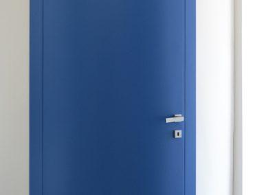 Porta tamburata Mod CS Arquata blu