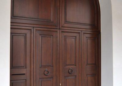 Portone in legno massiccio (passo carraio) (1)